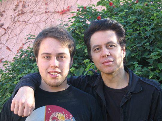 Shane and his son Shane Barakan