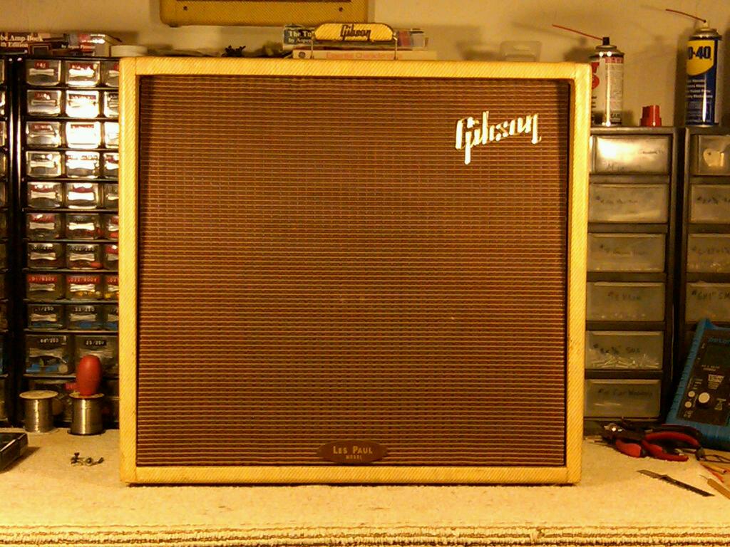 1959 Ga 40 Gibson Les Paul Guitar Amplifier 300guitars