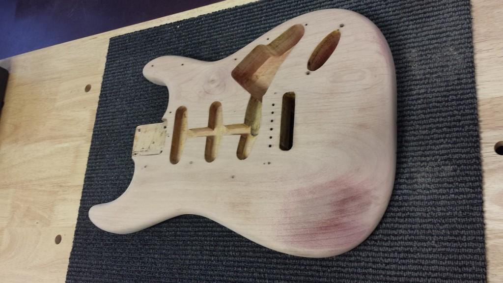 61S body stripped